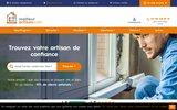 screenshot http://www.meilleur-artisan.com meilleurartisan.com