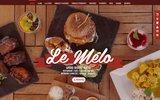 screenshot http://www.melocafe.fr restaurant ambiance musicale sur marseille