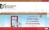 screenshot http://www.menuiserie-fenetre.fr menuiserie fenetre....isolez vos fenêtres en bois