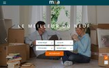 screenshot http://www.metapromotion.com Programmes immobiliers neufs