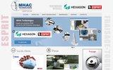 screenshot http://www.mhac-technologies.com logiciel de fao esprit