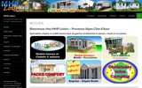 screenshot http://www.mhploisirs.com mobil-homes neufs et occasions