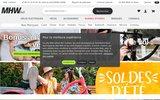 screenshot http://www.mhw-bike.fr magasin de vélos