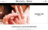 screenshot http://www.mikaeldan.com mikaeldan