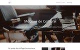 screenshot http://www.mobiliercoiffure.fr mobilier pour salon coiffure gamma mg bross