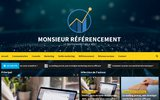 screenshot http://www.monsieur-referencement.com monsieur référencement : expert en référencement