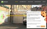 screenshot http://www.montanari.fr plâtrerie