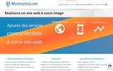 screenshot http://www.montrezvous.net MontrezVous.net Création de site internet