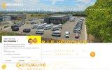 screenshot http://www.morin-loisirauto.com Le camping-car autour de Valence Drôme
