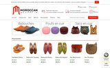 screenshot http://www.moroccan-market.fr La boutique d'artisanat marocain