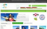 screenshot http://www.mosailes.com MosAiles Parapente Paramoteur