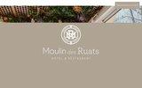 screenshot http://www.moulindesruats.com moulin des ruats : hôtel restaurant en bourgogne