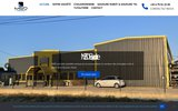 screenshot http://www.msdsoudure.fr/ m.s.d mécano soudure drômoise