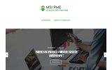 screenshot http://www.msi-pme.fr/ infogérance