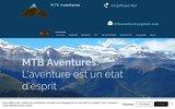 screenshot http://www.mtbaventures.com MTB Aventures
