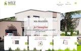 screenshot http://www.mtlf.fr/ mtlf, le bon choix pour une construction sure et de qualité