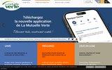 screenshot http://www.mutuelleverte.com la mutuelle verte - devis santé en ligne