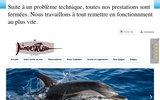 screenshot http://www.nageavecdauphins.com Nager avec les dauphins