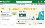 screenshot http://www.naturalforme.fr shopping de produits bio et naturels