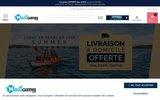 screenshot http://www.nautigames.com canoës kayacs, tous les sports nautiques avec nautigames