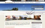 screenshot http://www.neorizons-travel.com voyages haut de gamme orient�s bien-�tre