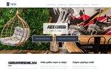 screenshot http://www.nesk.fr graphiste freelance à Lyon