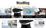screenshot http://www.niceblog.fr créer facilement votre blog personnalisé