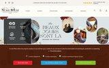 screenshot http://www.nuagerouge.fr nuage rouge – spécialiste de la botte santiag, biker et western