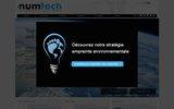 screenshot http://www.numtech.fr numtech : évaluation des risques sanitaires