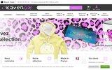 screenshot http://www.okavengo.fr/ Okavengo, Marquer votre empreinte, agence de communication par l'objet