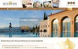 screenshot http://www.olevene-organisation-seminaire.com olevene organisation seminaire