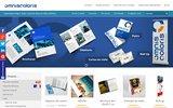 screenshot http://www.omniscoloris.fr imprimerie : toute la chaîne graphique