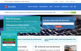 screenshot http://www.one2net.fr one2net france, services internet