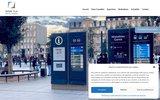 screenshot http://www.opentlv.com affichage dynamique