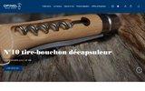 screenshot http://www.opinel.com couteaux pliants opinel : couteaux de poche