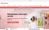 screenshot http://www.optimalprint.fr optimalprint : imprimerie et papeterie en ligne