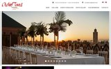 screenshot http://www.orchid-tours.com agence voyage marrakech