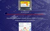 screenshot http://www.ordisauvetage.fr/ dépannage informatique - internet - réseaux - formation informatique