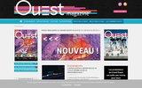 screenshot http://www.ouest-magazine.com Ouest