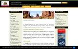 screenshot http://www.ouestamericain.com ouest américain