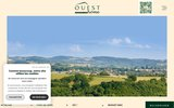 screenshot http://www.ouesthome.fr ouest home  immobilier ouest lyonnais.