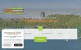 screenshot http://www.pacullimmobilier.com appartement cap d'agde