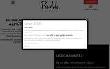 screenshot http://www.padolo.com hotel padolo bonifacio