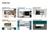 screenshot http://www.pandafox.fr pandafox