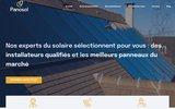 screenshot http://www.panosol.fr panosol : spécialistes en énergie solaire