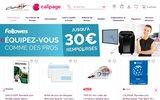 screenshot http://www.papeterie-fournitures-bureau.com cadrillage articles scolaires papeterie entreprise