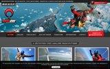 screenshot http://www.parachutisme.pro/ saut en parachute tandem, saut initiation pac, formation parachutisme pac