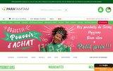 screenshot http://www.paratamtam.com parapharmacie paratamtam