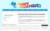 screenshot http://www.parcs-aquatiques.com Parcs aquatiques