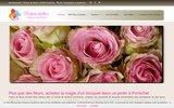 screenshot http://www.parfumdefleurs.eu fleuriste